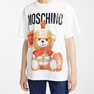 NWOT auth Moschino Teddy bear oversized Jersey top